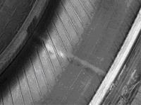Фото 2. Стыки слоя каркаса, как «источники» дисбаланса покрышки