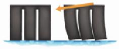 Классические ламели повышают сцепление с мокрой дорогой, но снижают точность управления.