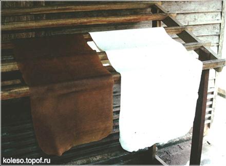 Свежеизготовленный и высокосортный продымленный натуральный каучук