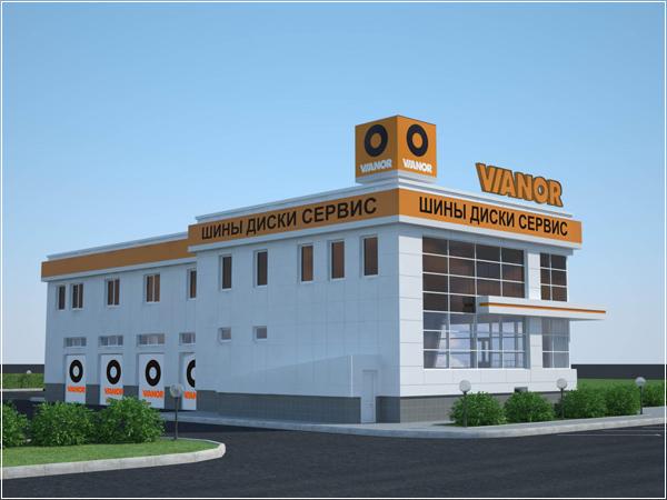 Сотый партнер сите шинных центров Vianor - компания Бринэкс (Татарстан)