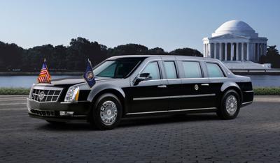 Шины Goodyear используются для лимузина Барака Обамы