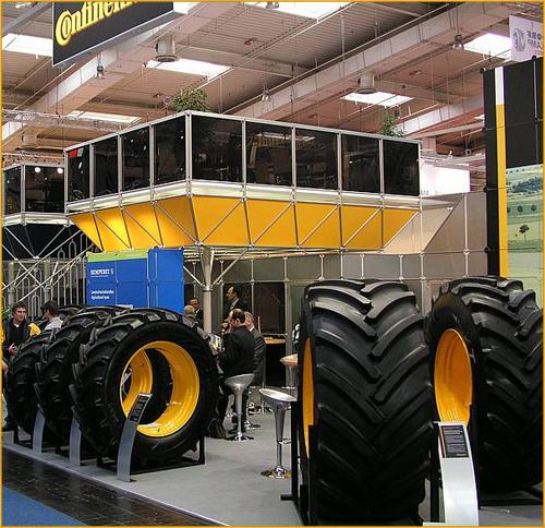 Continental представила недавнюю разработку – шину Continental SuperVolumeTyre