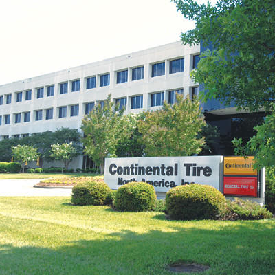 штаб-квартира Continental в Шарлотт