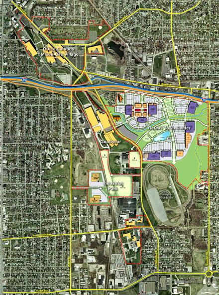 Финансирование проекта по строительству штаб-квартиры Goodyear в США одобрено