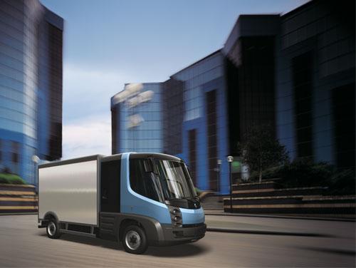 Kumho поставляет шины для экологически безвредных грузовиков
