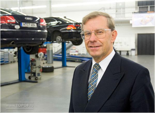Манфред Веннемер (Manfred Wennemer), Председатель правления компании Continental AG