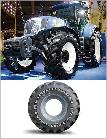 Сельскохозяйственные шины Michelin успешно проходят полевые испытания
