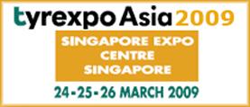 Назначена дата проведения Tyrexpo Asia 2009 c 24-26 марта 2009 года