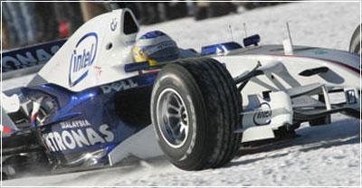 Bridgestone создал зимние шины для Формулы-1