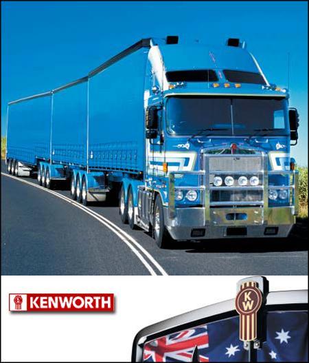 Bridgestone становится поставщиком шин для австралийских грузовиков Kenworth
