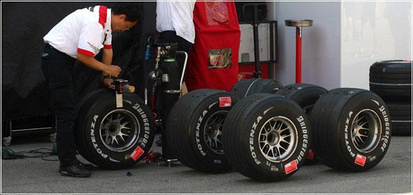 Шины Bridgestone Формулы 1