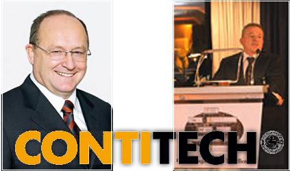 ContiTech AG: Heinz-Gerhard Wente (слева), Thomas Sattelberger (справа)