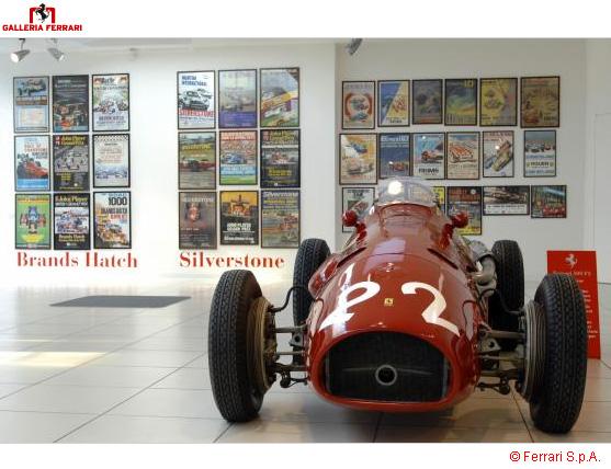 Pirelli принимает участие в праздновании 60-летия Ferrari