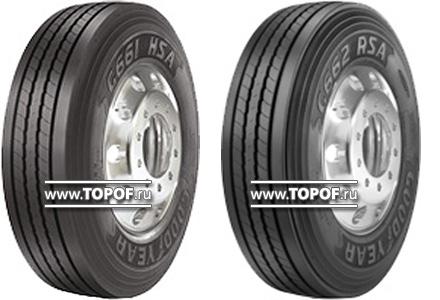 Goodyear представляет на рынке США новые шины