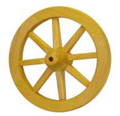 Цельное деревянное колесо