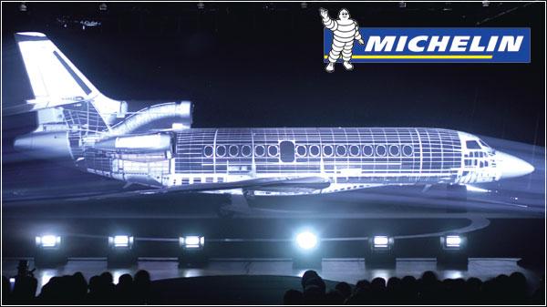 Компания Мишлен – эксклюзивный поставщик шин для нового административного самолета Фалькон F7X