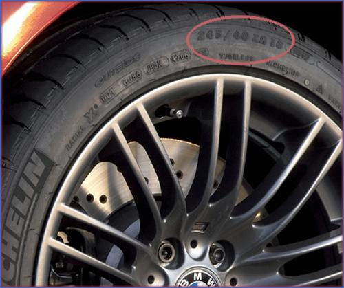 Передние шины MICHELIN Pilot Sport размерностью 245/40 ZR18 (93Y) на BMW M3