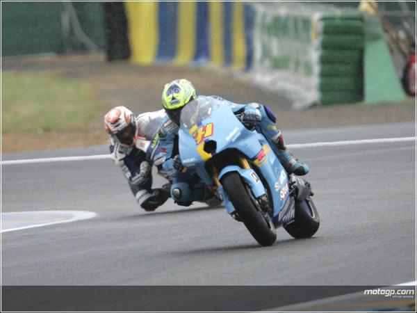 Гран-при Франции: Росси не угадал с шинами