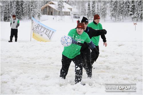 Hakkapeliitta продемонстрировала сцепление на футбольном поле