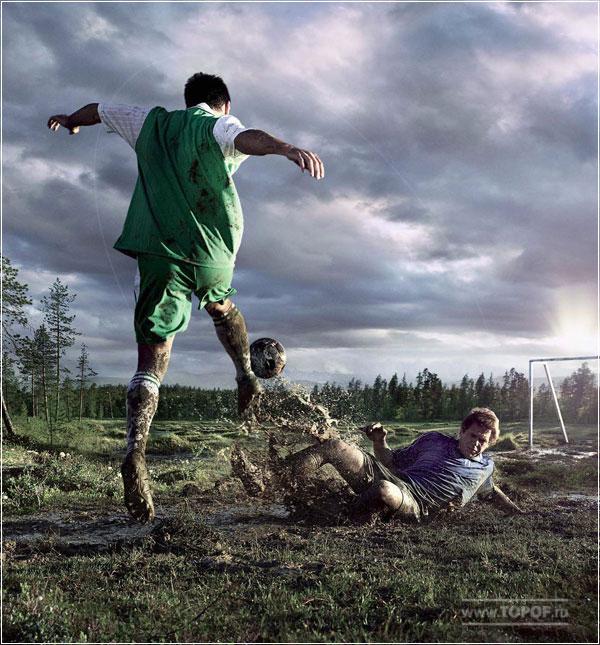 Команда Nokian Hakka сыграет в болотный футбол