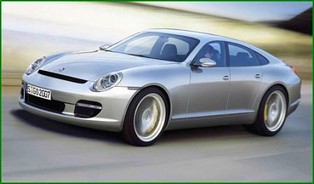 Porsche Panamera использует в качестве первичной комплектации шины Michelin