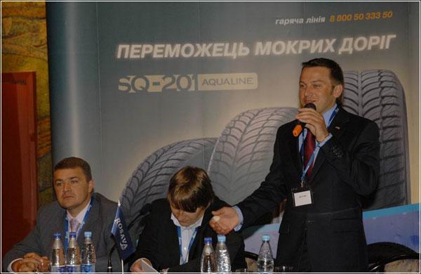 Росава: встреча с дилерами из России