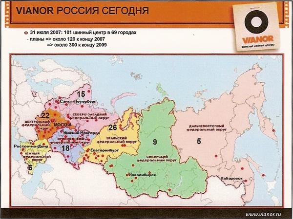 Vianor Россия