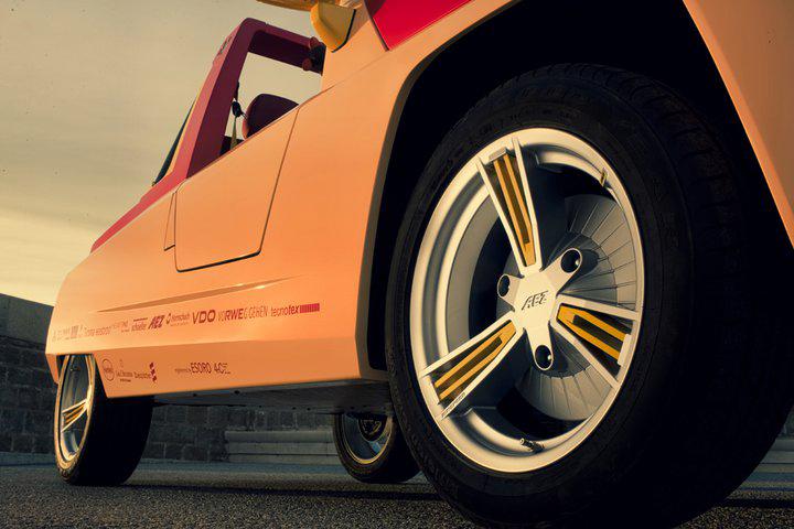 Новая яркая разработка AEZ для Rinspeed «BamBoo»