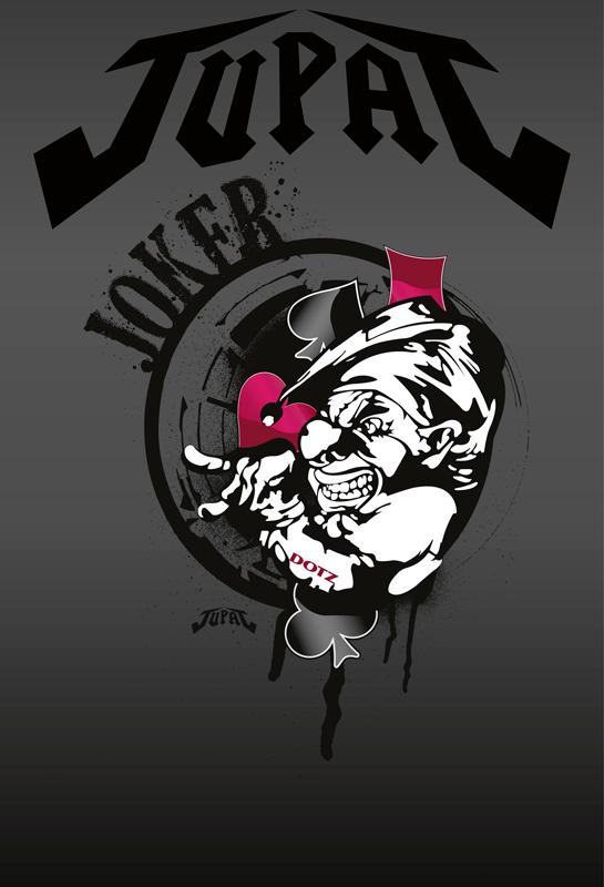 Joker - название нового дизайна, который создал аэрограф Питер Ридель