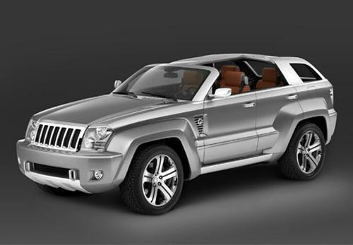 Goodyear демонстрирует свои разработки на концепт-джипе Jeep Trailhawk