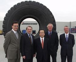 Bridgestone открывает европейский центр логистики в Zeebrugge