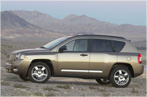 Goodyear поставляет шины для Jeep Compass