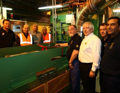 новое оборудование Goodyear Dunlop на заводе установлено раньше срока