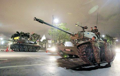 переворот в Тайланде