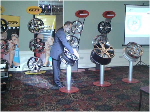 Презентация колесных дисков 2007 года