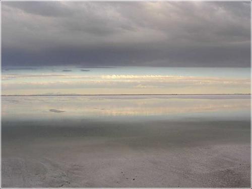 Bonneville Salt Flats - Большое Солёное озеро