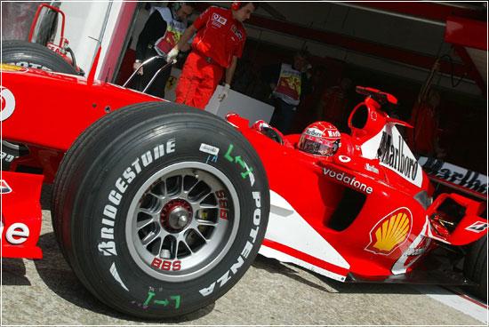 F1 Bridgestone