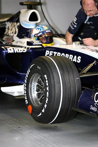 Bridgestone проверяет новую маркировку шин
