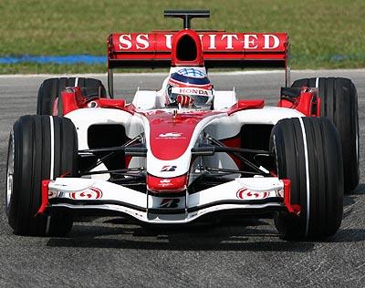 Маркировка шин на Гран При Малайзии