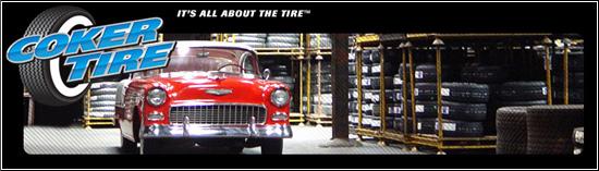 Coker Tire предлагает новые шины для старых автомобилей