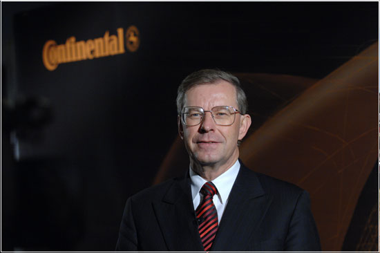 Руководитель Conti Manfred Wennemer