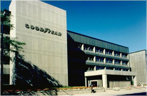 Goodyear в Акроне, штат Огайо