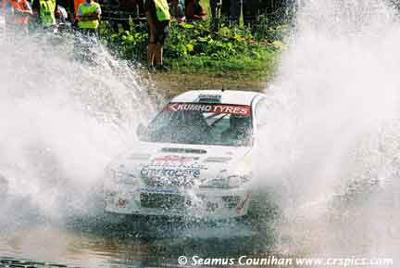 SJR Hankook готовятся к Jim Clark Rally