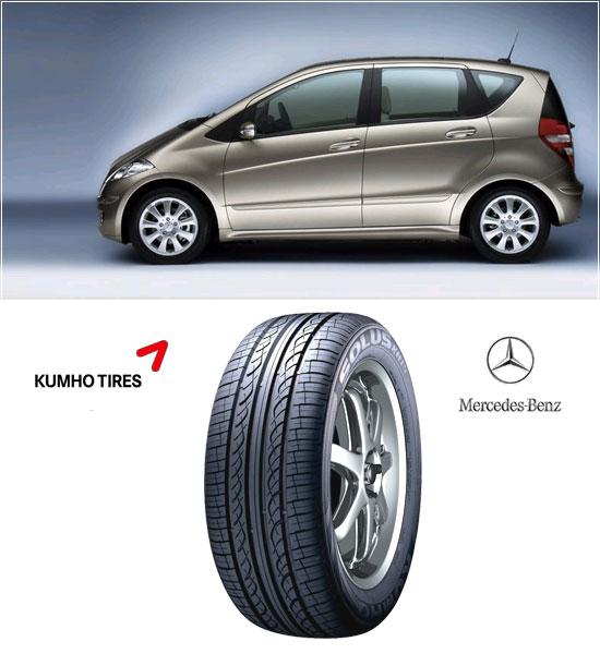 Mercedes Benz A-Class | Kumho Solus KH15