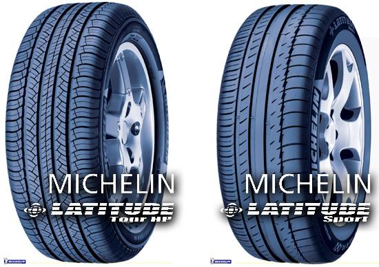 Michelin Latitude Tour HP и Michelin Latitude Sport
