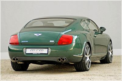 самый быстрый автомобиль MTM Bentley Continental GT и шины Dunlop SP Sport Maxx