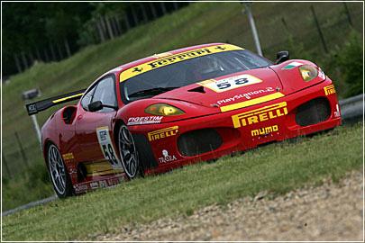 Pirelli выигрывает 24-часовую гонку Spa второй год подряд (Ferrari)