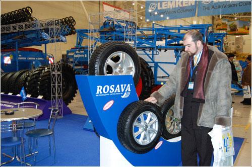 ЗАО «Росава» вызвало большой интерес на выставке Agrihort-2007