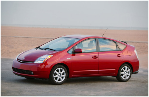 Оригинальное оборудование Bridgestone Turanza на новом автомобиле Toyota Prius