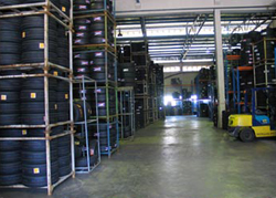 Yokohama: новый склад шин в Канаде